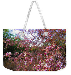 Vekol Wash Desert Ironwood In Bloom Weekender Tote Bag