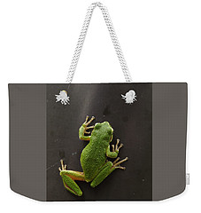 Weekender Tote Bag featuring the photograph Velcro Feet by I'ina Van Lawick