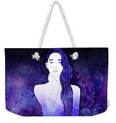 Velvet Echo Weekender Tote Bag