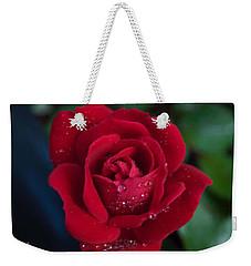 Velvet Red Weekender Tote Bag
