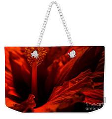 Velvet Seduction Weekender Tote Bag by Sheila Ping