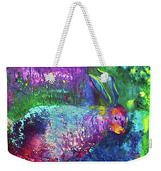 Velveteen Rabbit Weekender Tote Bag by Claire Bull