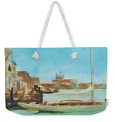 Venetian Canal Weekender Tote Bag by Sergey Lukashin