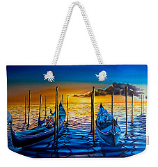 Venetian Lights 7 Weekender Tote Bag