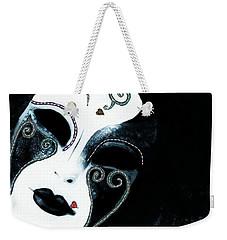 Venetian Mask Of Mystery Weekender Tote Bag