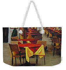 Venetian Tables Weekender Tote Bag