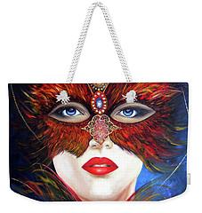 Venetian Tigress Weekender Tote Bag