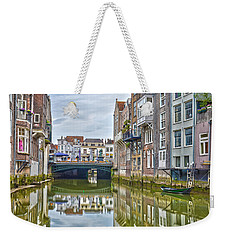 Weekender Tote Bag featuring the photograph Venetian Vibe In Dordrecht by Frans Blok