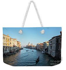 Venetian View  Weekender Tote Bag by Yuri Santin