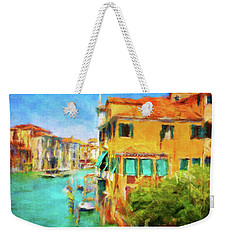 Weekender Tote Bag featuring the photograph Venezia Afternoon by Connie Handscomb