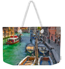 Venezia. Cannaregio Weekender Tote Bag