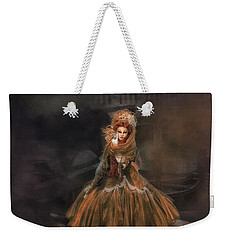 Weekender Tote Bag featuring the photograph Veneziana D'oro I by Jack Torcello