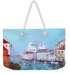 Venice At Dusk Weekender Tote Bag
