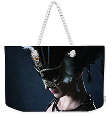 Weekender Tote Bag featuring the photograph Venice Carnival Mask by Dimitar Hristov