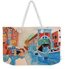 Venice Celebration Weekender Tote Bag