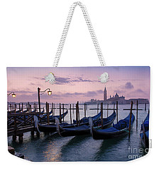 Weekender Tote Bag featuring the photograph Venice Dawn II by Brian Jannsen