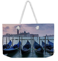 Weekender Tote Bag featuring the photograph Venice Dawn IIi by Brian Jannsen