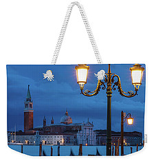 Weekender Tote Bag featuring the photograph Venice Dawn V by Brian Jannsen