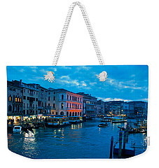 Weekender Tote Bag featuring the photograph Venice Evening by Eric Tressler