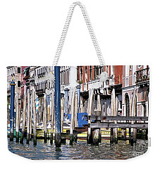 Weekender Tote Bag featuring the photograph Venice Grand Canal by Allen Beatty