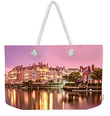 Venice Of Jersey City Weekender Tote Bag