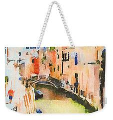 Venice On Waters Weekender Tote Bag
