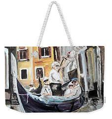 Venice Party Weekender Tote Bag