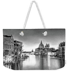 Venice Pencil Drawing Weekender Tote Bag