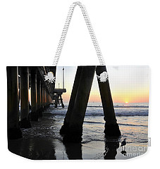 Venice Pylong Bird Weekender Tote Bag