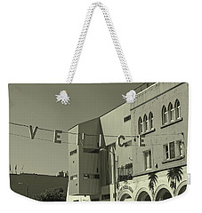 Venice Sign Weekender Tote Bag
