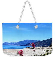 Weekender Tote Bag featuring the photograph Ventimiglia Italia by Michelle Dallocchio