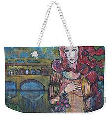 Venus And The Ponte Vecchio  Weekender Tote Bag