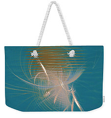 Venus Born Out Of The Sea Weekender Tote Bag by Menega Sabidussi