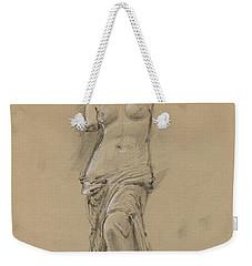Venus De Milo Weekender Tote Bag by Juan Bosco
