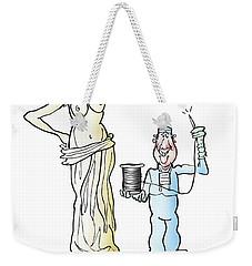 Venus Di Muscle Weekender Tote Bag