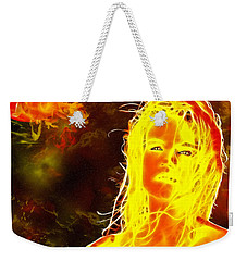 Venus Is Home Weekender Tote Bag