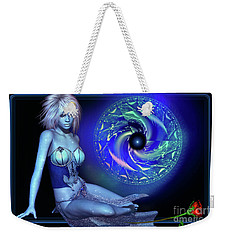 Weekender Tote Bag featuring the digital art Venus by Shadowlea Is