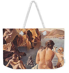 Venus With Cupid Weekender Tote Bag