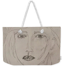 Vera In Pencil Weekender Tote Bag