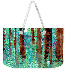 Verdant Vistas Weekender Tote Bag by Seth Weaver
