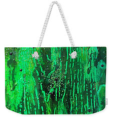 Verde Abstract Weekender Tote Bag