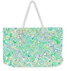 Verde Blue Weekender Tote Bag