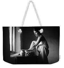 Vermeer Footwasher Weekender Tote Bag