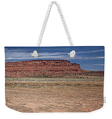 Vermillion Cliffs Panorama Weekender Tote Bag by Anne Rodkin