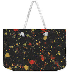 Vermillion Explosion Weekender Tote Bag by Phil Strang
