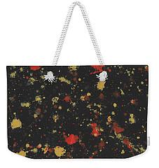Vermillion Explosion Weekender Tote Bag