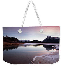 Vermillion Ice Break Weekender Tote Bag