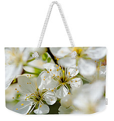 Vermont Apple Blossoms Weekender Tote Bag