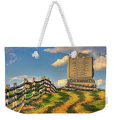 Vermont At Antietam - The Old Vermont Brigade - Mumma Lane, Antietam National Battlefield Weekender Tote Bag