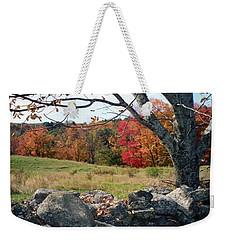 Vermont Autumn Weekender Tote Bag